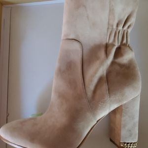 MICHAEL KORS - SUEDE BOOTS AS SHOW.  NEW IN BOX